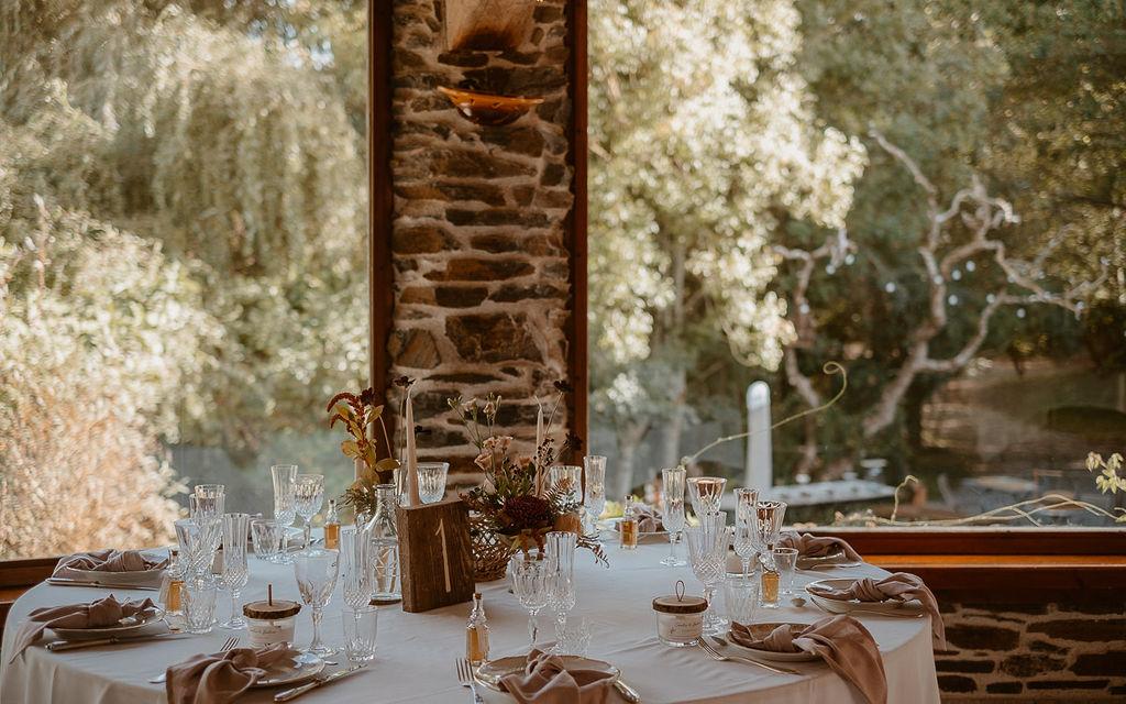 decoration de table mariage champetre boheme naturel ecoresponsable