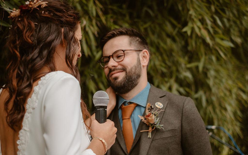 boutonnière mariage automnal nantes