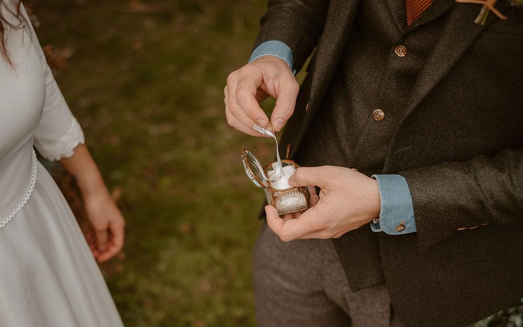 boite a alliances mariage