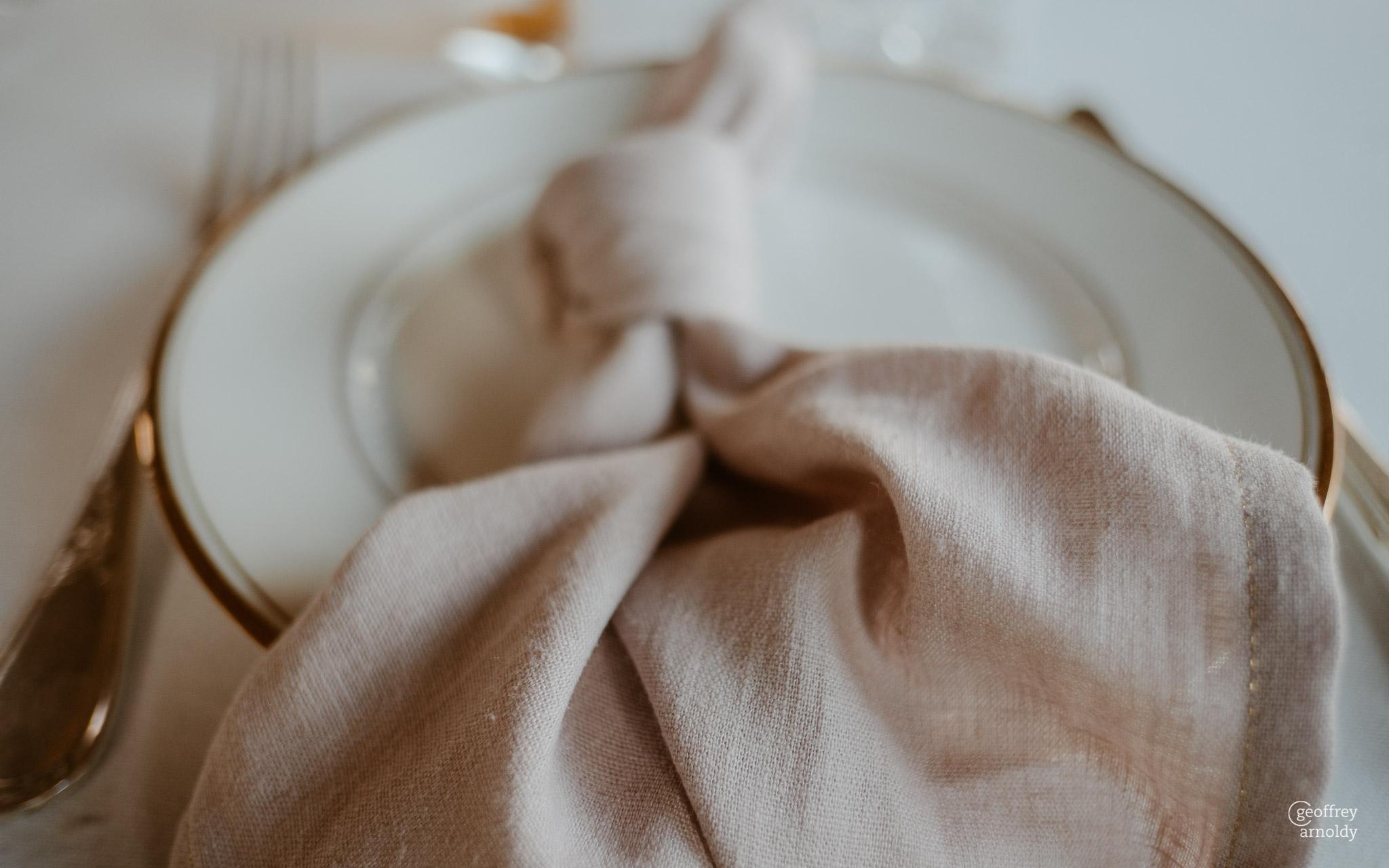 location serviette de table lin mariage nantes pays de la loire