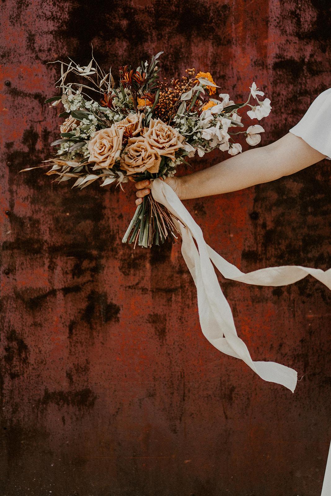 bouquet de mariee ecoresponsable nantes