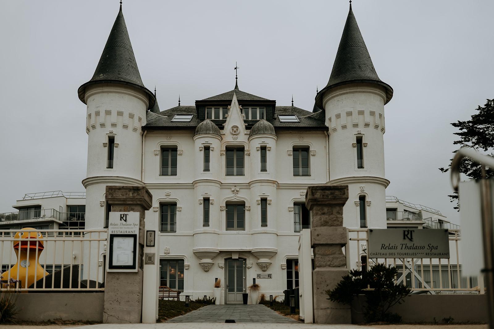 Château hôtel nuit de noces Pays de la Loire