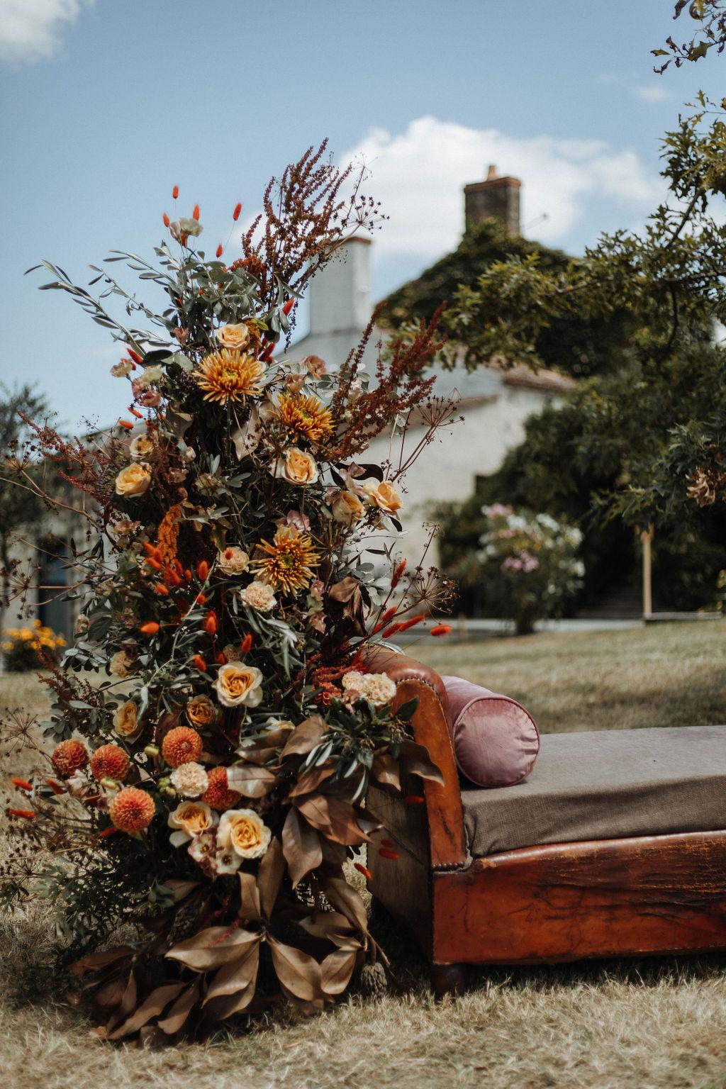 ceremonie laique arche fleurie vendee coresponsable